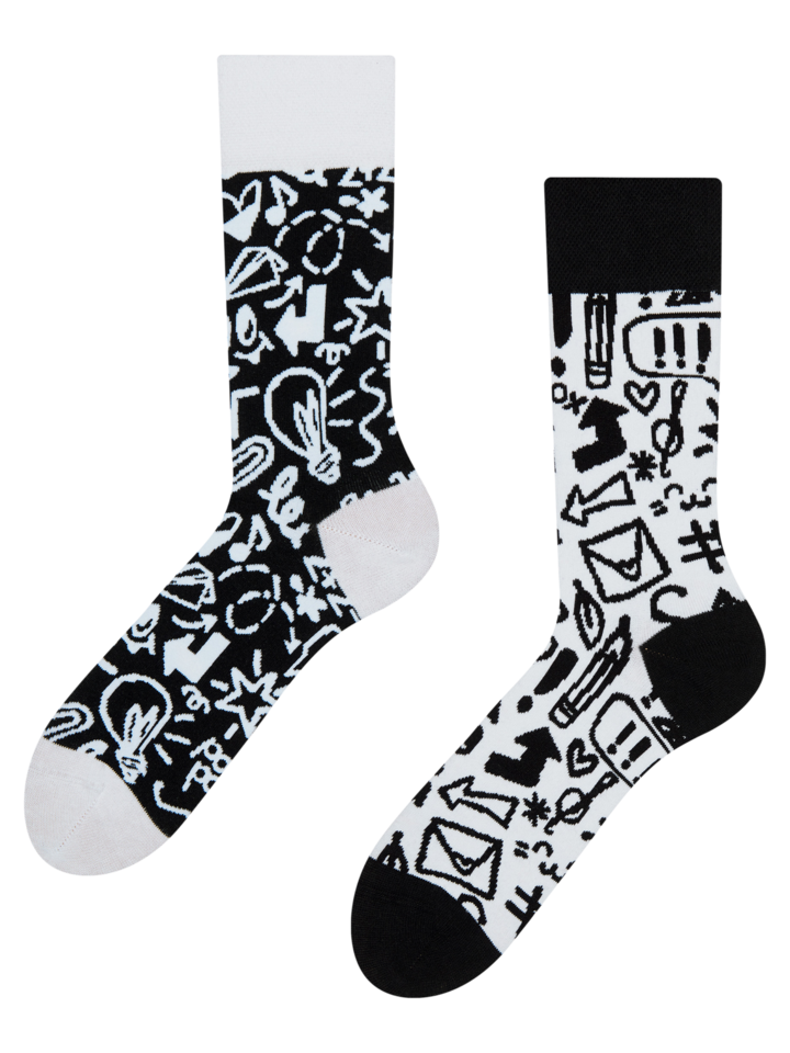 Lifestyle photo Eco Friendly Socks Doodles