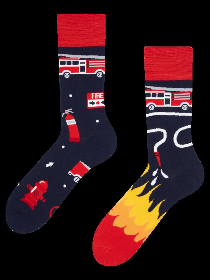 Zľava Vrolijke sokken Brandweermannen