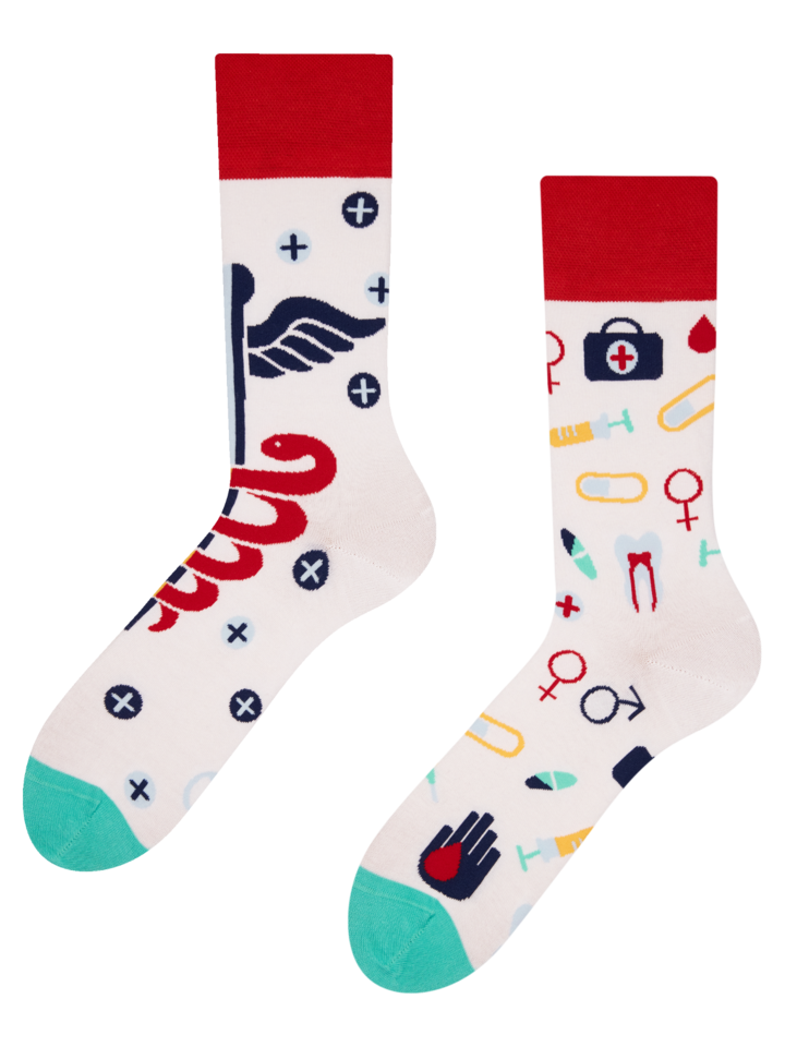 Looking for an original and unusual gift? The gifted person will surely surprise with Regular Socks Health