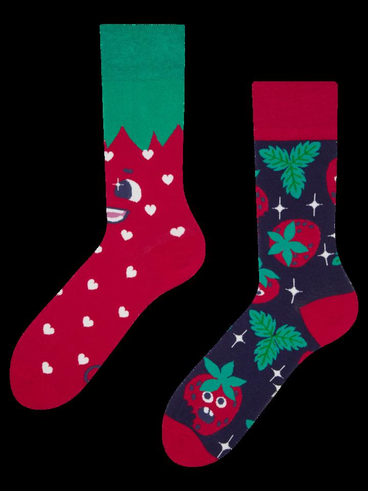 Pre dokonalý a originálny outfit Regular Socks Happy Strawberries