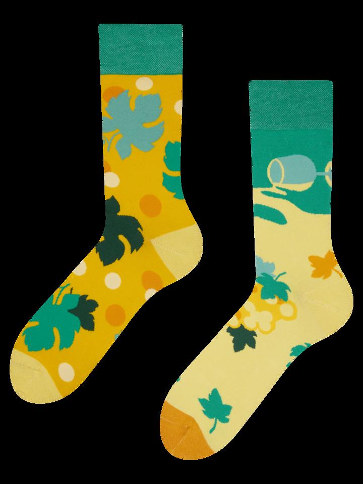 Geschenktipp Lustige Socken Weinrebe