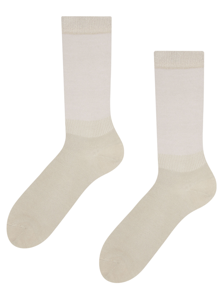 Lifestyle photo Nude Bamboo Socks Comfort