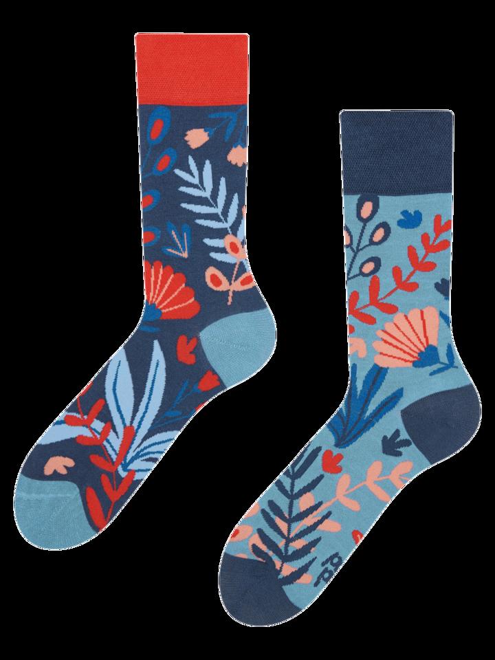 Potešte sa týmto kúskom Dedoles Veselé bambusové ponožky Koral