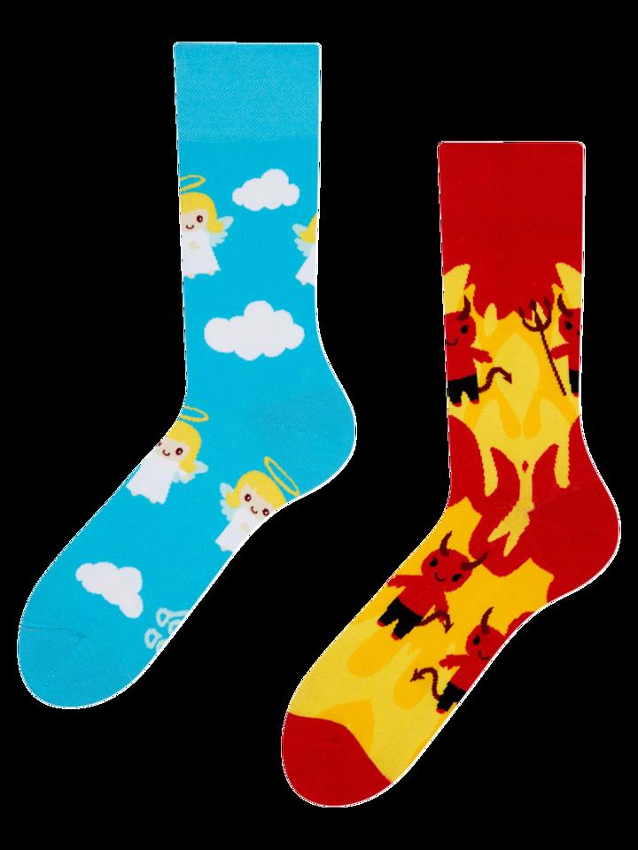 Obrázok produktu Živahne nogavice Angel in Hudič