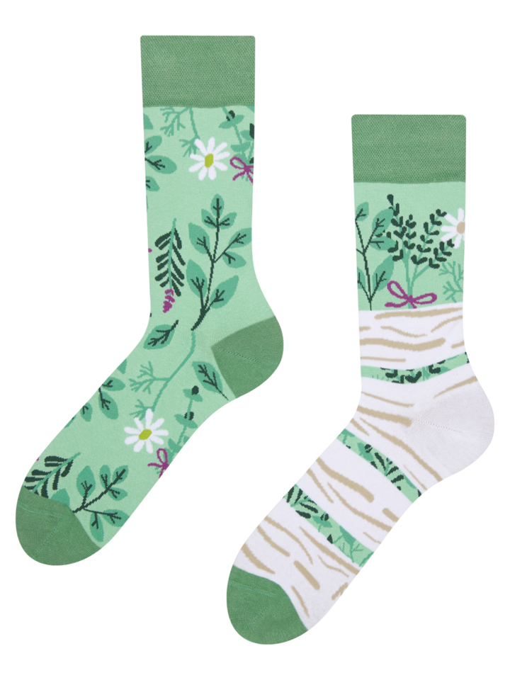 Gift idea Regular Socks Herbs