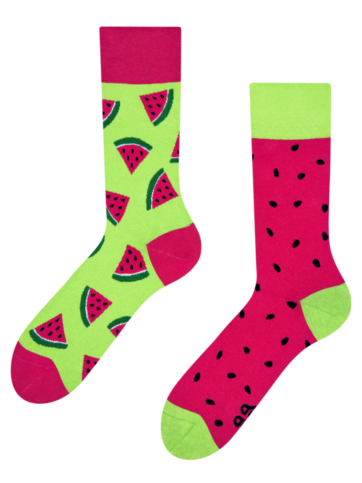 Sale Regular Socks Watermelon