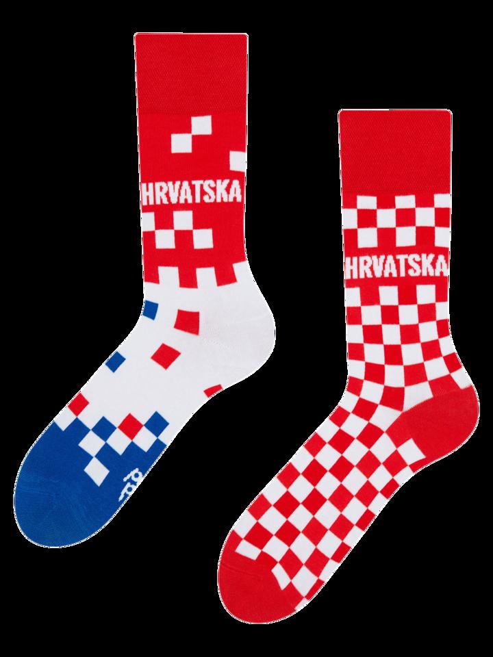 für ein vollkommenes und originelles Outfit Lustige Socken Kroatien