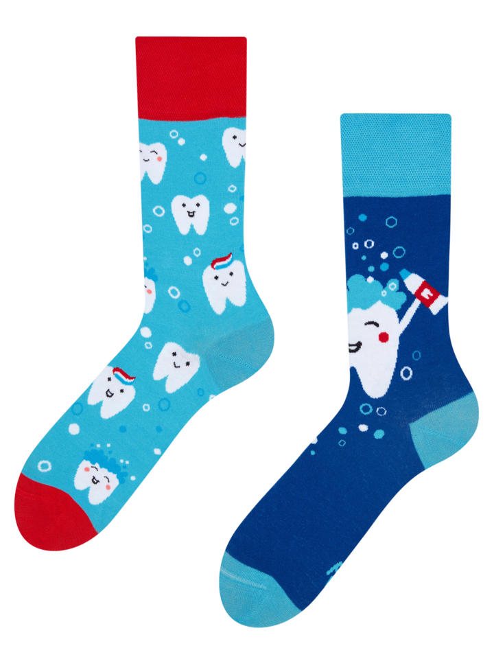 Lifestyle photo Regular Socks Clean Teeth