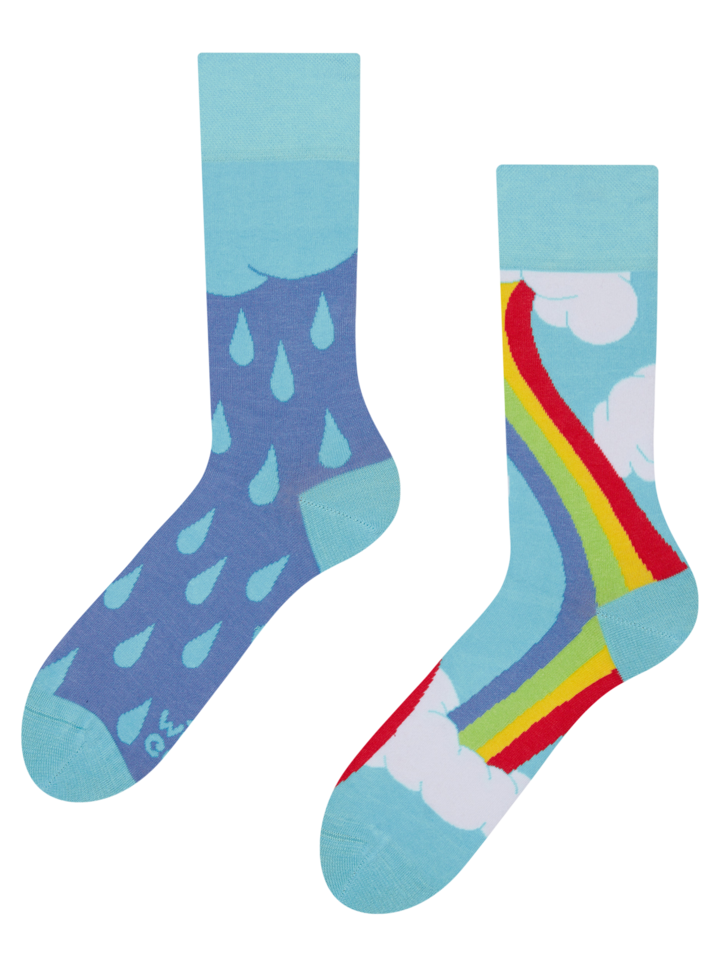 Lifestyle photo Regular Socks Rainbow