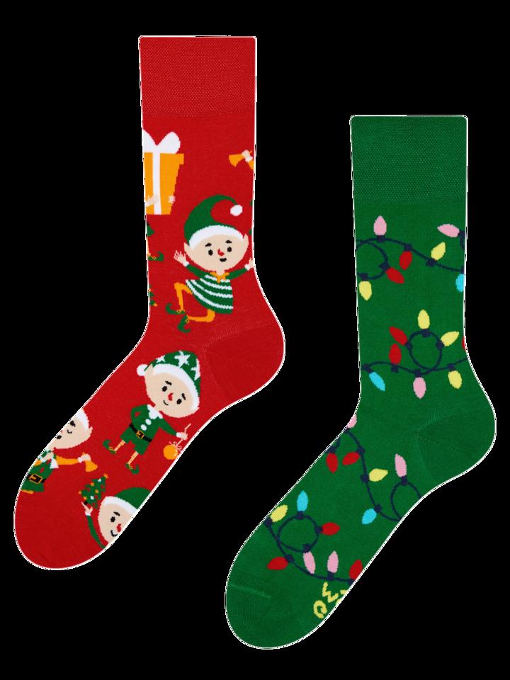 Foto Lustige Socken Elfen