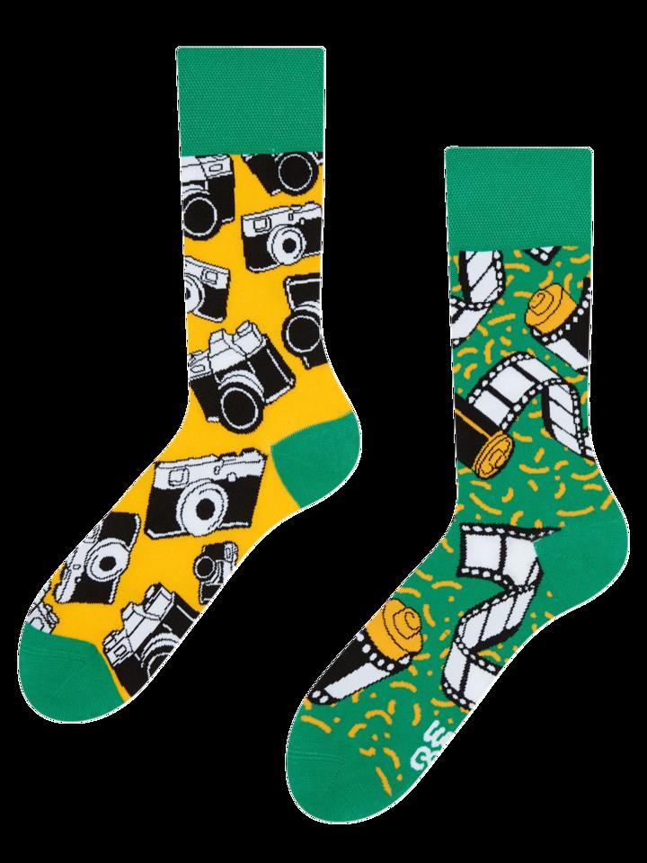 Gift idea Regular Socks Camera
