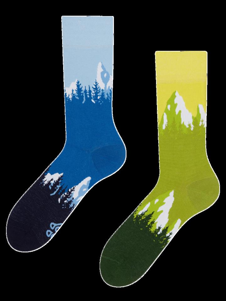 ОТСТЪПКА Весели чорапи Планини