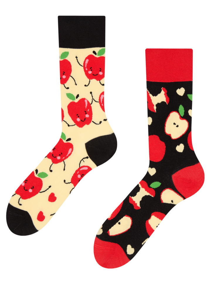Lifestyle photo Regular Socks Apples