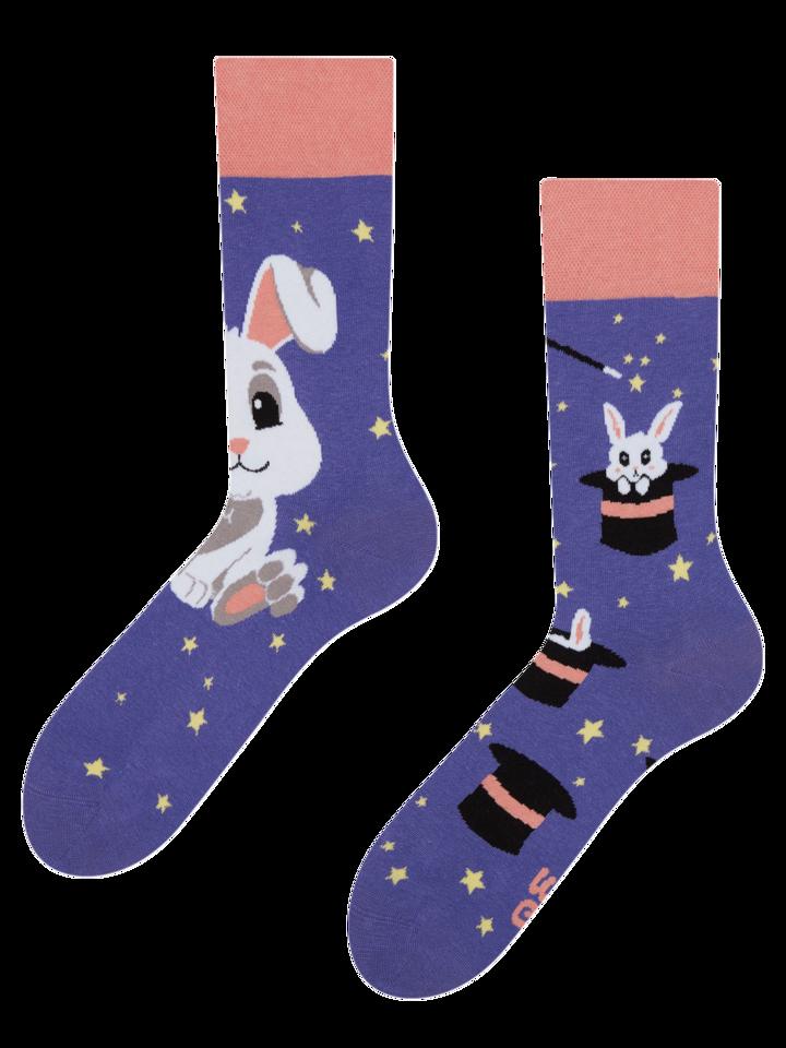 Zľava Vrolijke sokken Magisch konijn