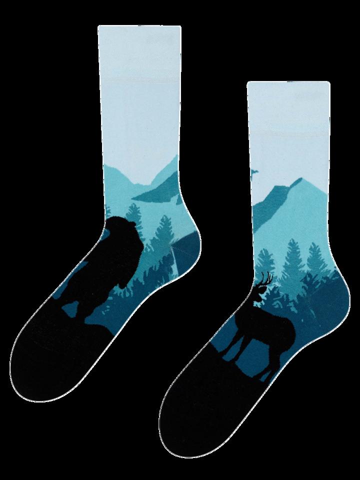 Geschenktipp Lustige Socken Wald
