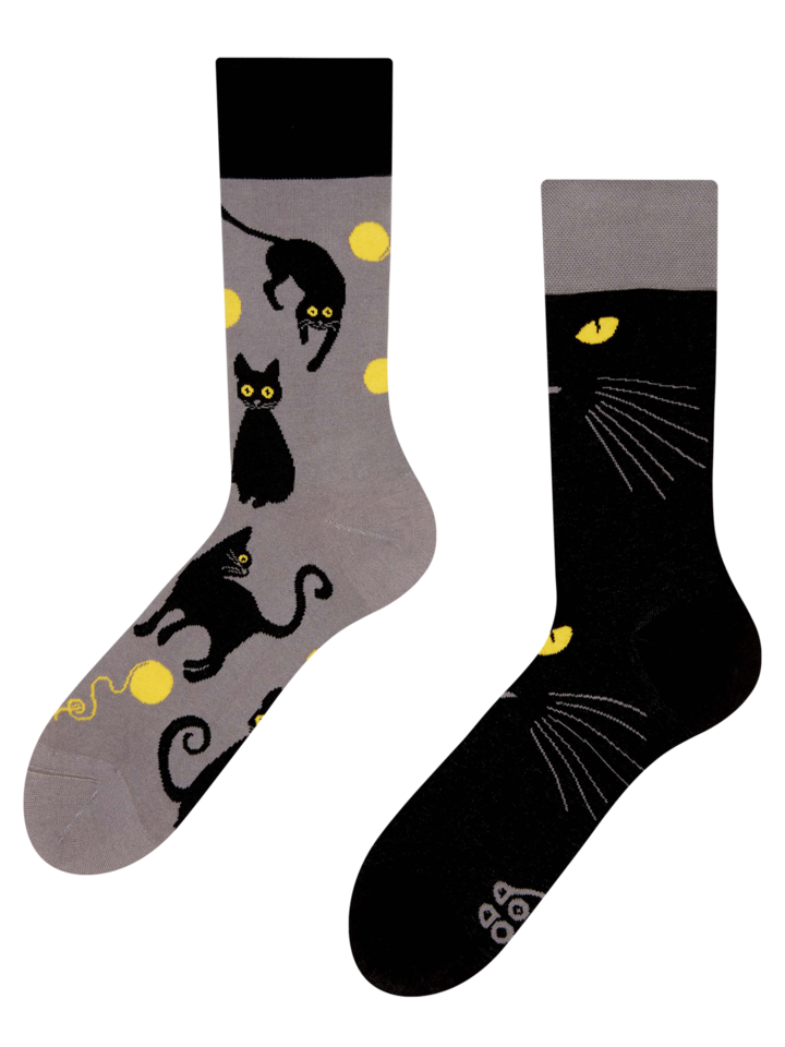 Tip na darček Chaussettes rigolotes Chats