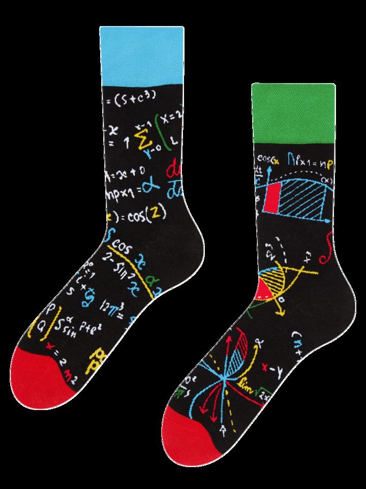 Foto Veselé ponožky Matematika