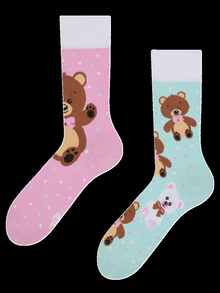 Výnimočný darček od Dedoles Živahne nogavice Medvedek