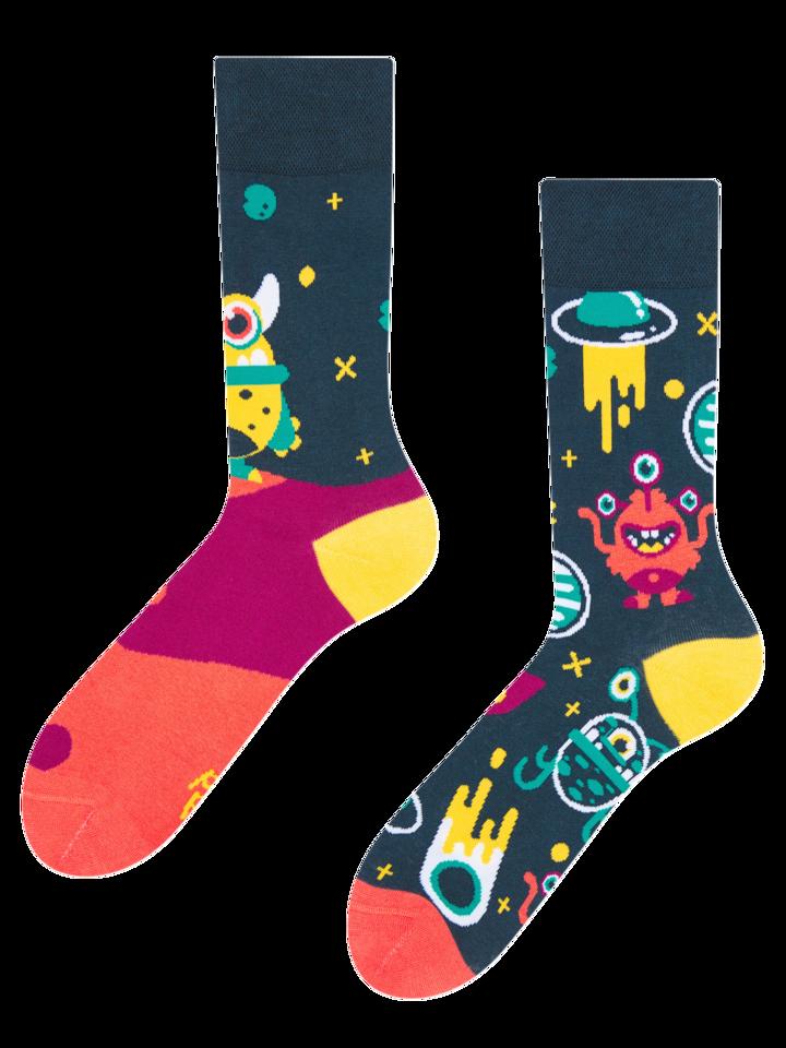 Rabatt Lustige Socken Außerirdische