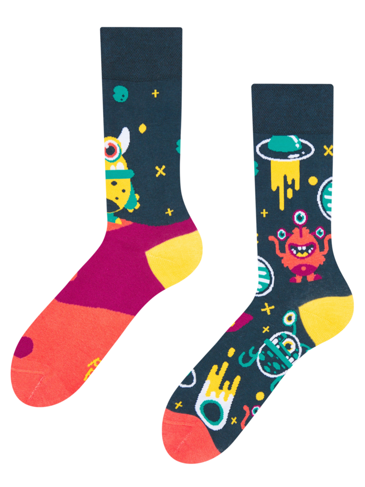 Sale Regular Socks Aliens