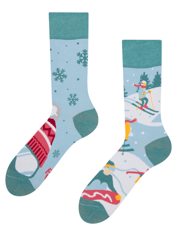 Lifestyle photo Regular Socks Ski Slopes