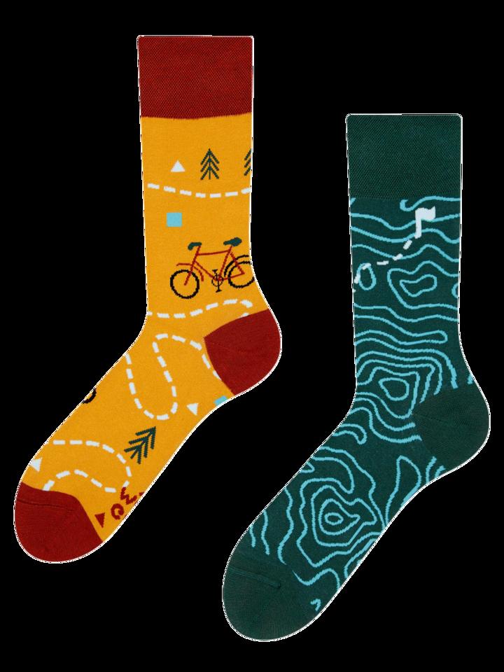 Ausverkauf Lustige Socken Auf der Strecke