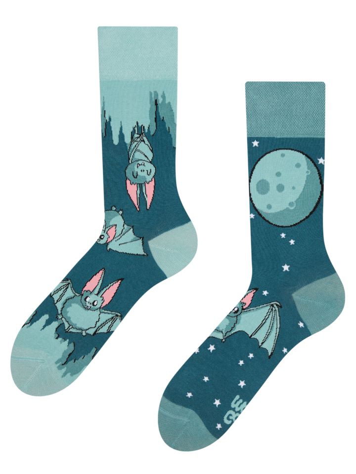 Lifestyle photo Regular Socks Bats in the Night