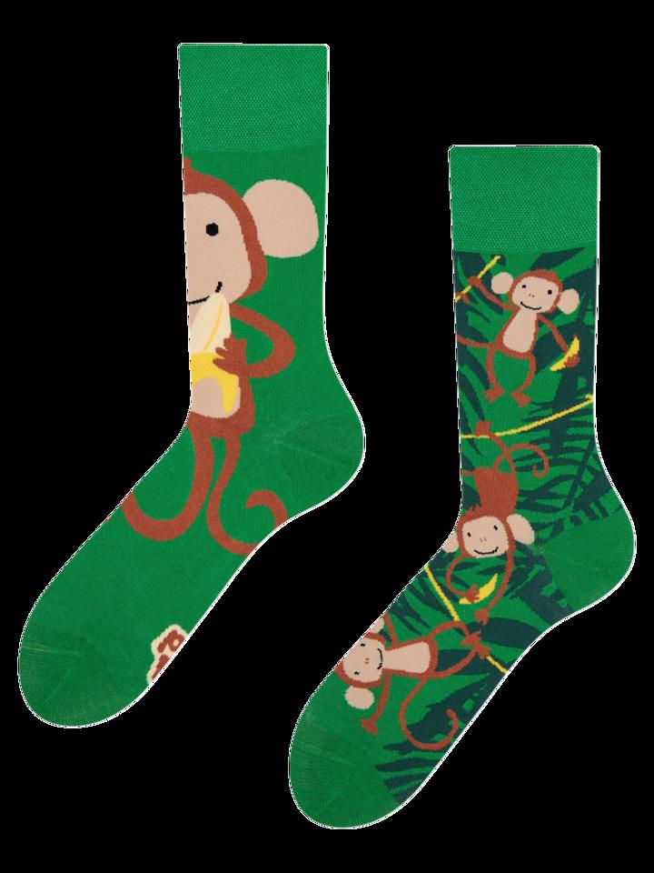 Cadou original de la Dedoles Șosete Vesele Maimuțe
