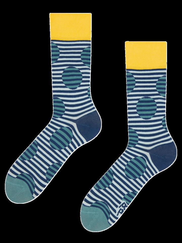 Sale Regular Socks Optical Illusion