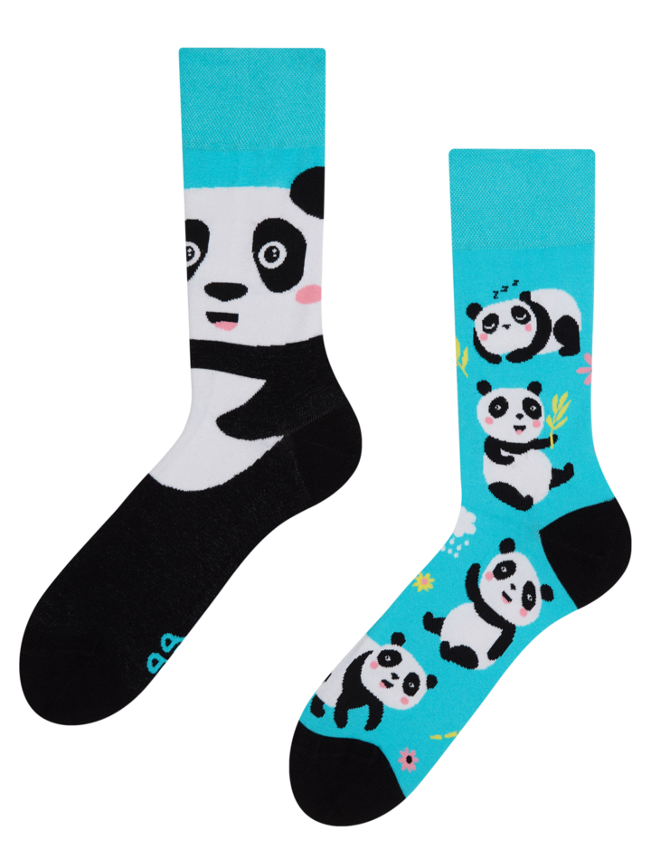 Dedoles oryginalny prezent Wesołe skarpetki Panda
