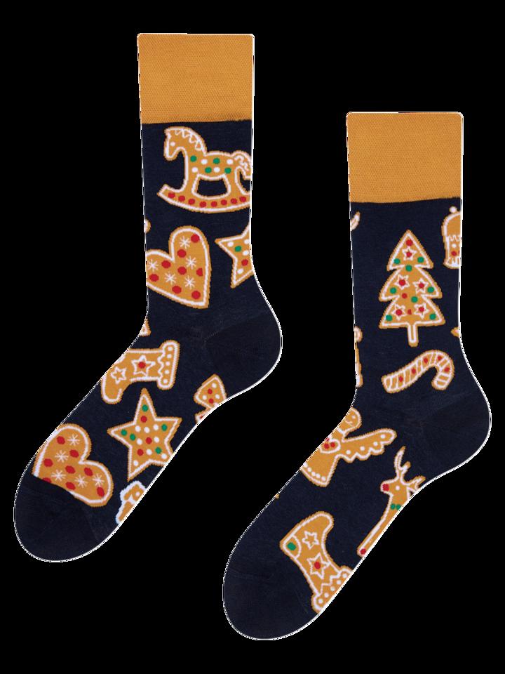 Pre dokonalý a originálny outfit Vrolijke sokken Peperkoek