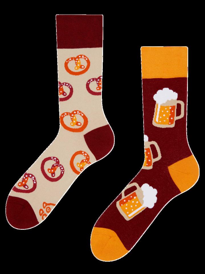 Geschenk von Dedoles Lustige Socken Bier
