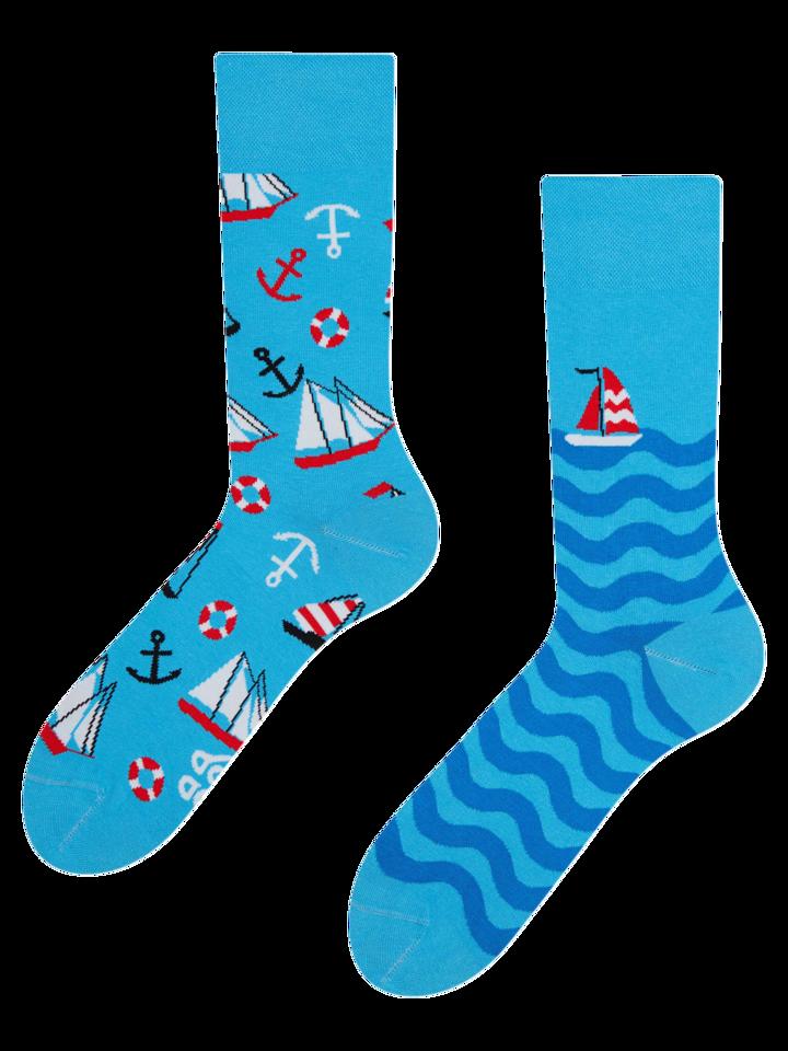 Tip na darček Vesele čarape Jedrenje
