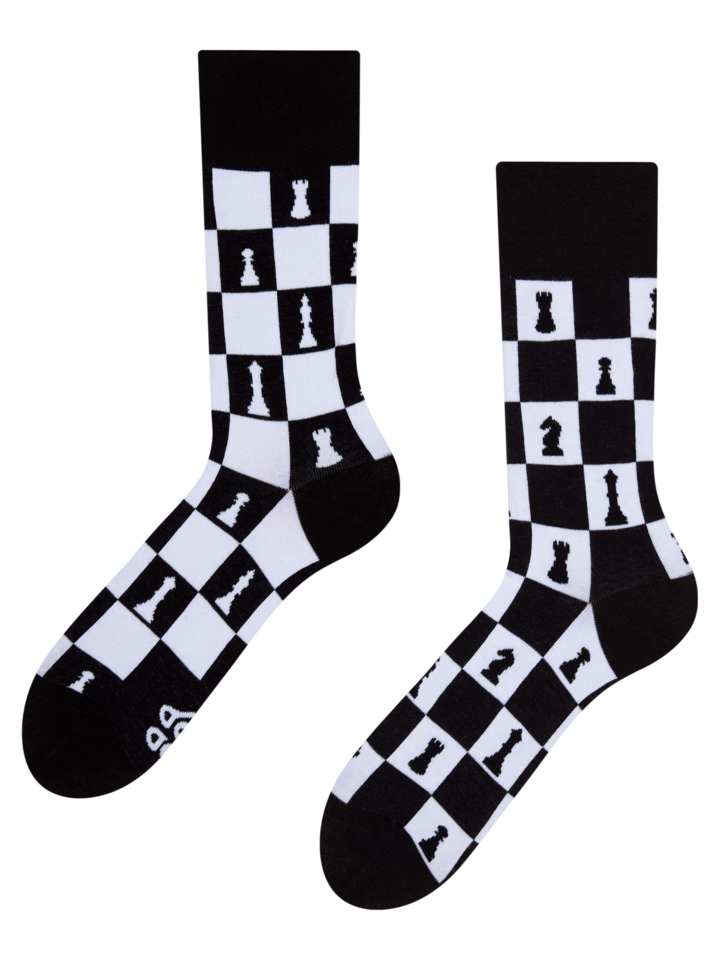 Potešte sa týmto kúskom Dedoles Vrolijke sokken Schaakspel