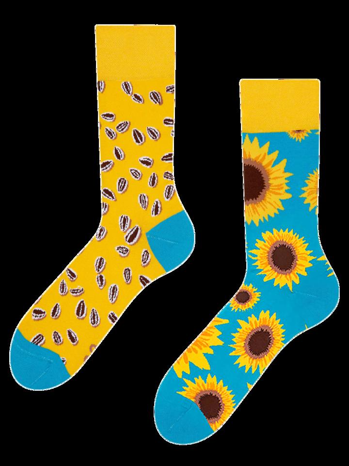 Pre dokonalý a originálny outfit Regular Socks Sunflower