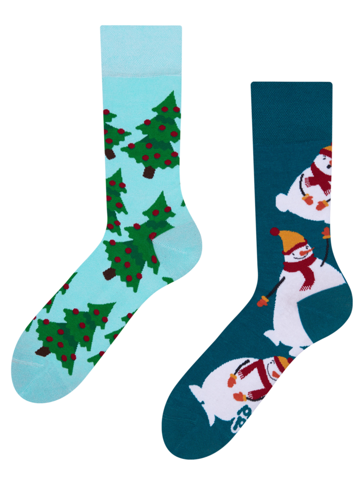 Gift idea Regular Socks Snowman