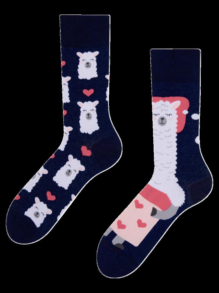 Original gift Regular Socks Good Night Llama
