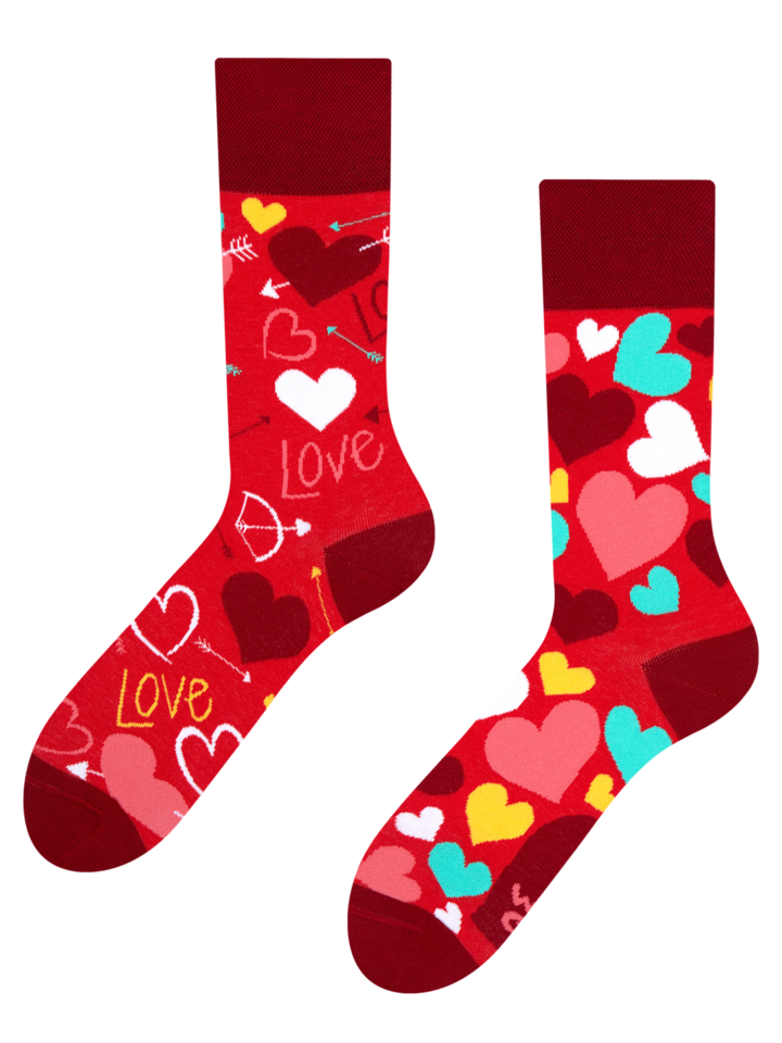 Zľava Vesele čarape Srculenca