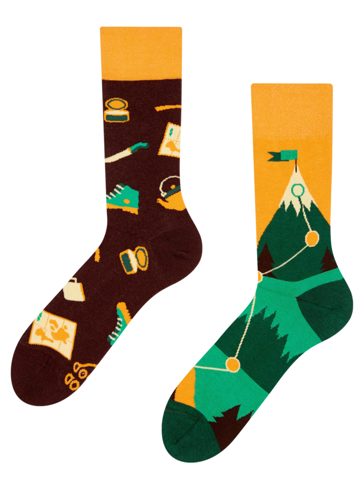 Looking for an original and unusual gift? The gifted person will surely surprise with Regular Socks Hiking