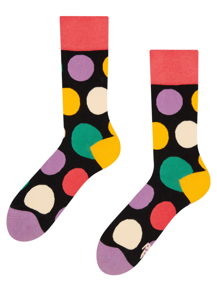Gift idea Regular Socks Big Dots