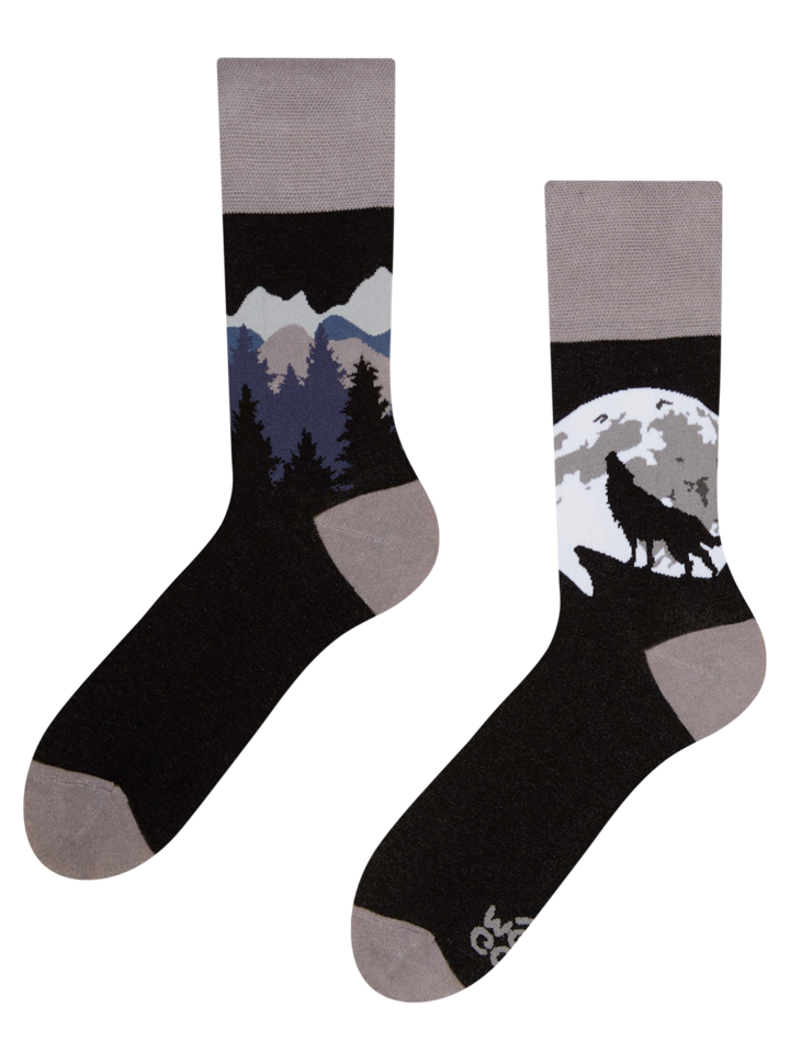 Lifestyle photo Regular Socks Wolf