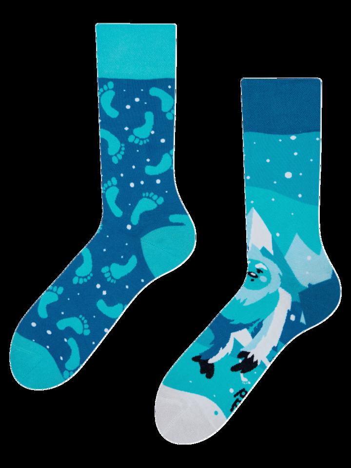 Foto Lustige Socken Yeti