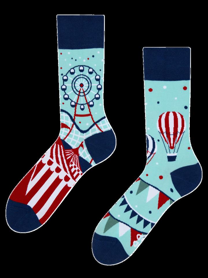 Hľadáte originálny a nezvyčajný darček? Obdarovaného zaručene prekvapí Vrolijk sokken Pretpark