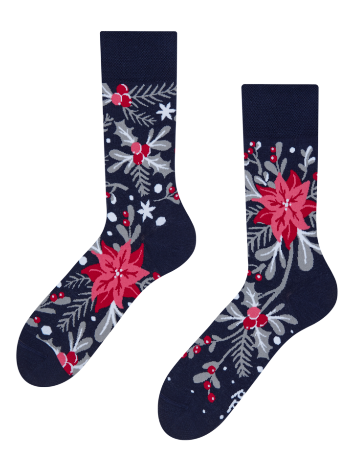 Foto Veselé ponožky Vánoční ornament
