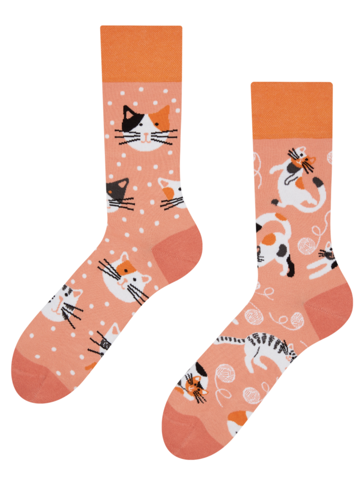 Obrázok produktu Calcetines alegres Gatos juguetones