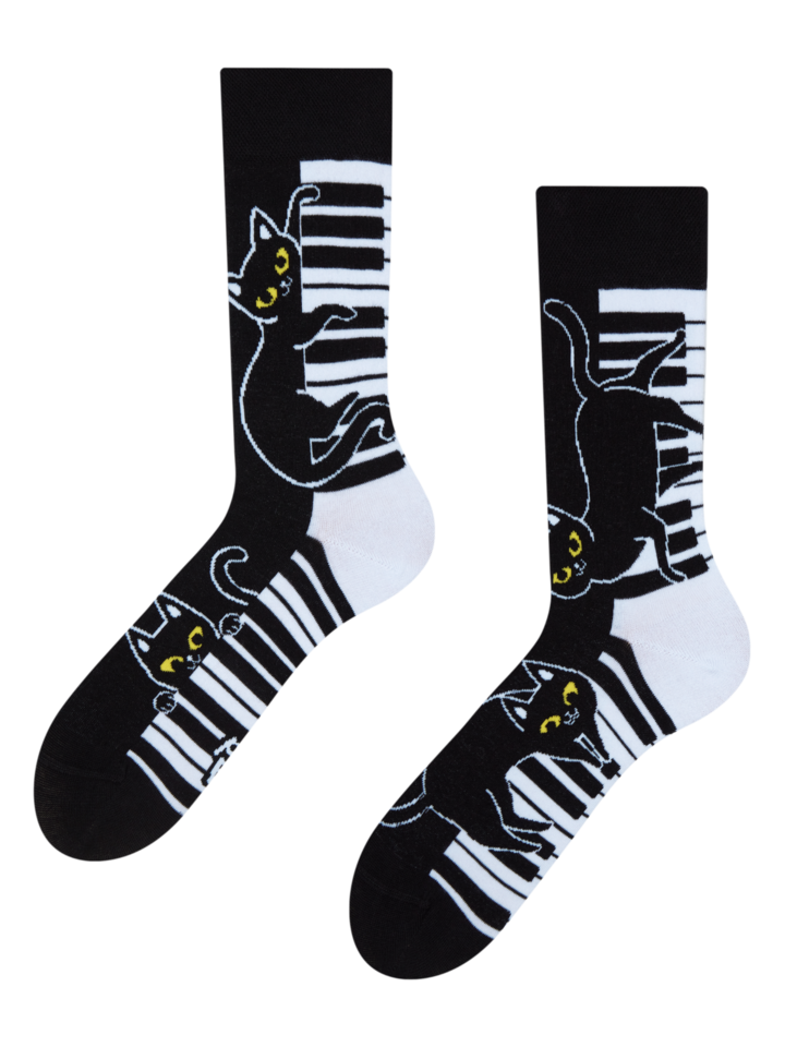 Lifestyle photo Regular Socks Piano Cat