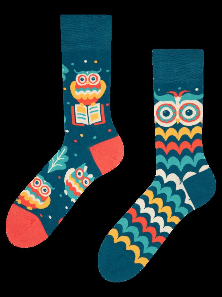 Obrázok produktu Vrolijke sokken Wijze uil