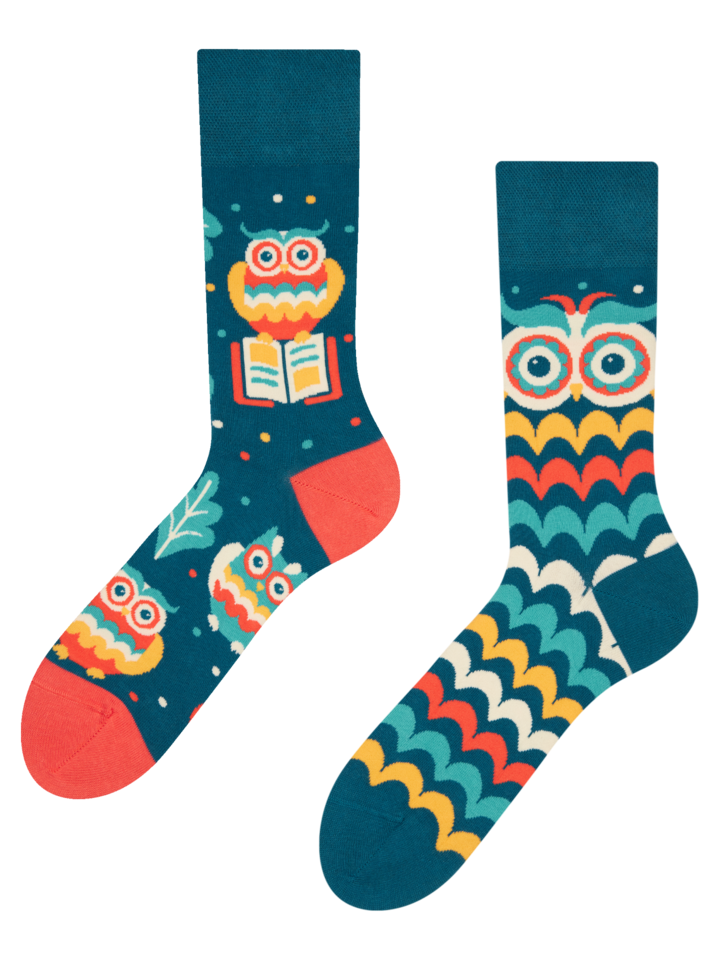 Obrázok produktu Živahne nogavice Modra sova