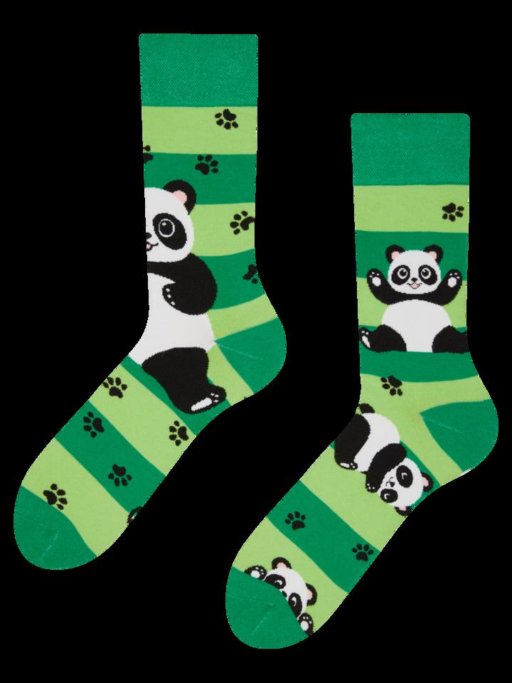 Potěšte se tímto kouskem Dedoles Veselé ponožky Pandy a pásky