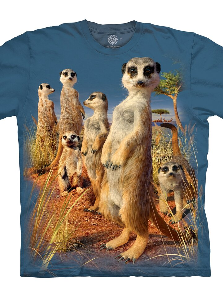 Lifestyle photo T-Shirt Suricate's Look